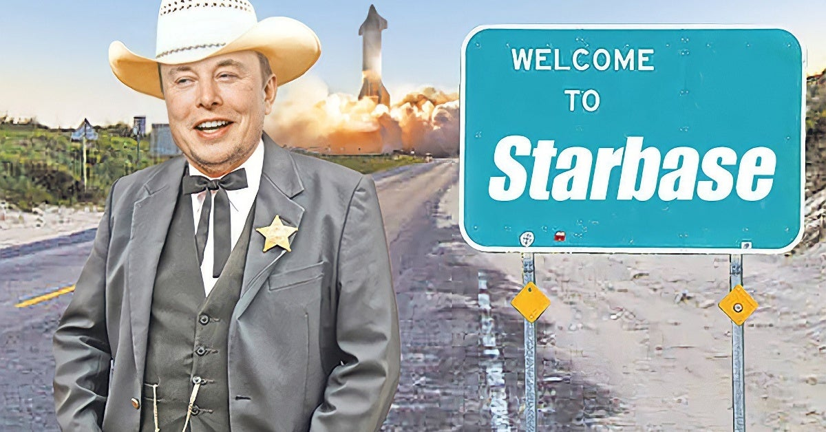 Elon Musk Grimes Son Starbase Texas