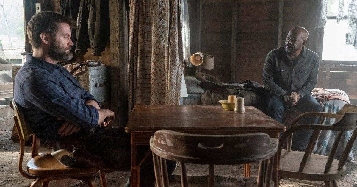 Fear the Walking Dead Season 6B Premiere Morgan and John Dorie
