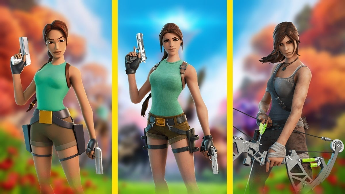 fortnite chapter 2 season 6 lara croft skins new cropped hed