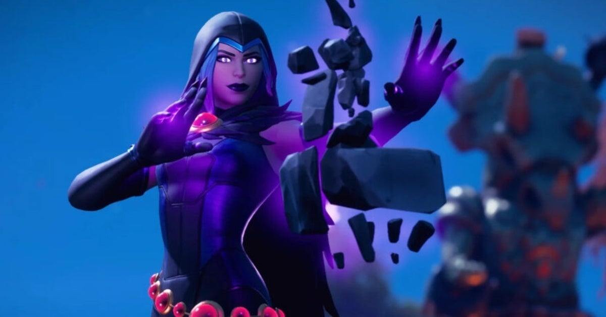 fortnite raven dc comics