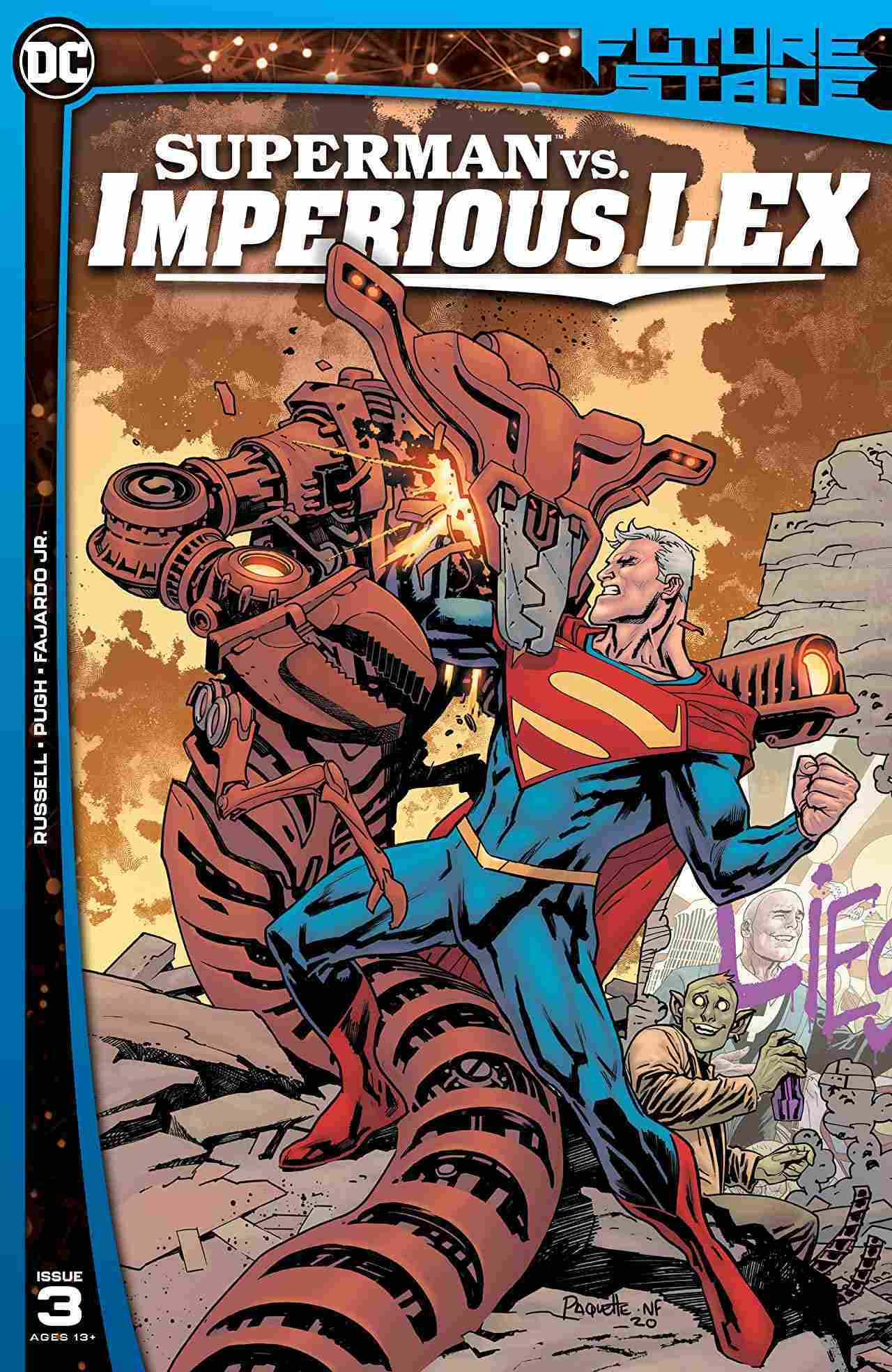 Future State Superman vs Imperious Lex #3