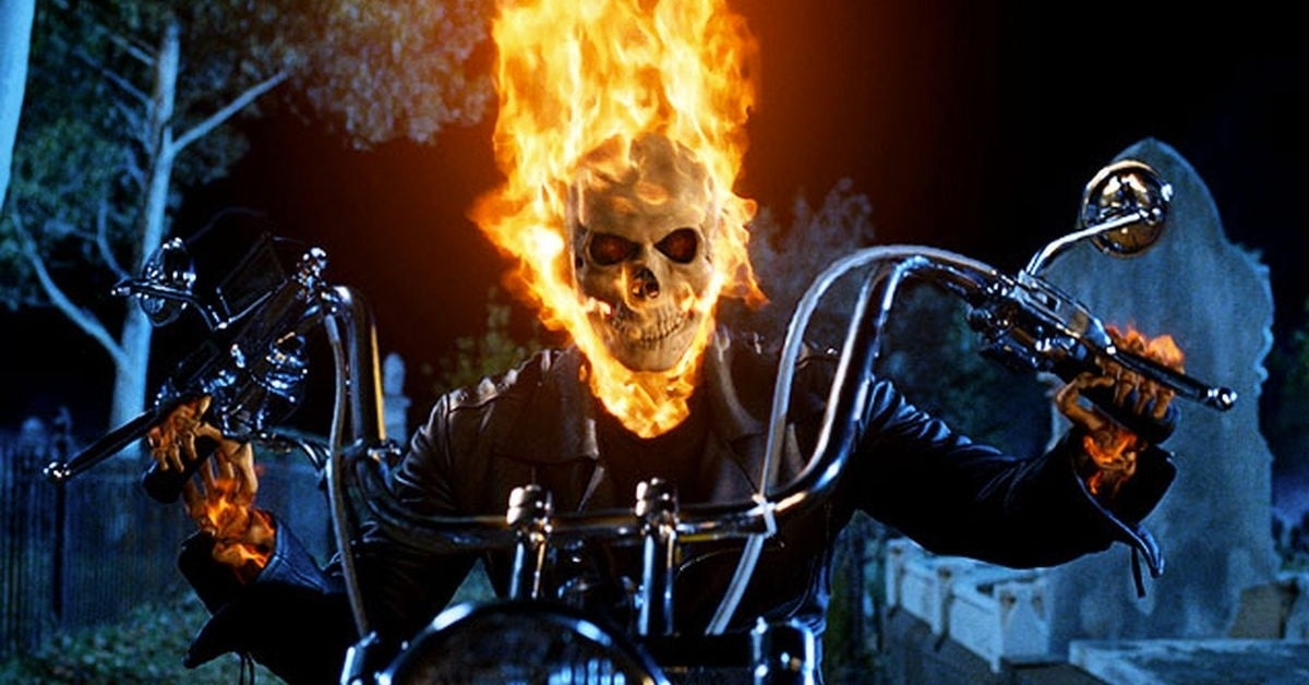 ghost rider nic cage