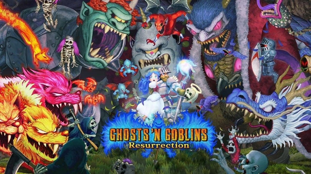 ghosts n goblins hed
