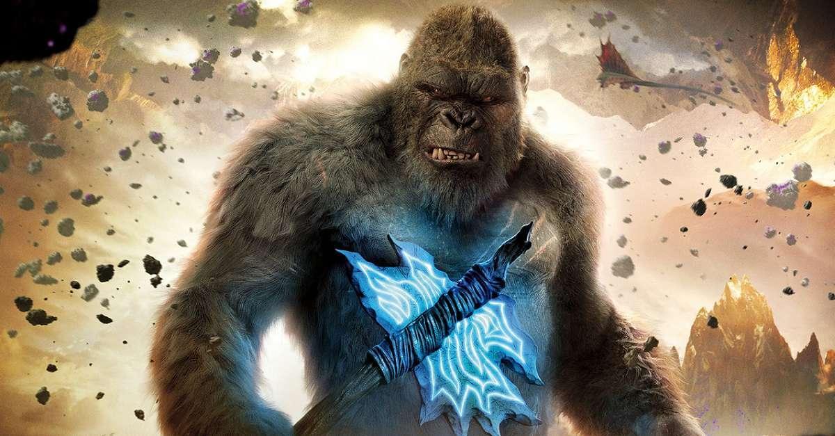 Godzilla Kong Axe