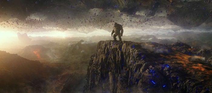 Godzilla Kong Hollow Earth