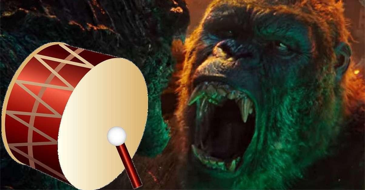 Godzilla Vs Kong Drum
