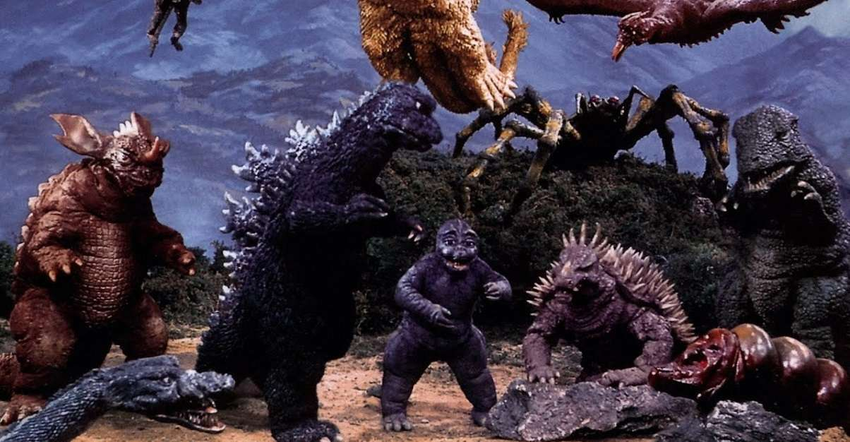 Godzilla Vs Kong Legendary Monsters
