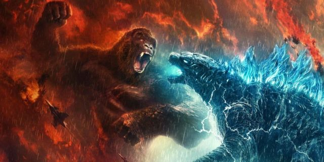 Godzilla vs Kong Poster China