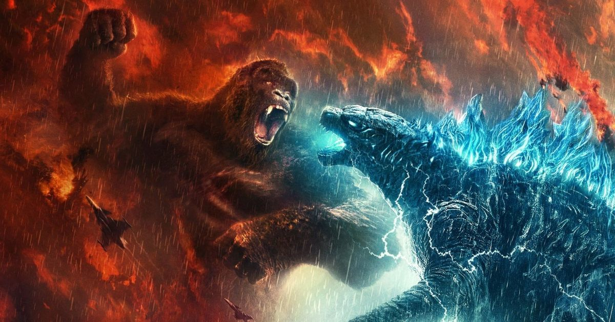 Godzilla vs Kong Poster China