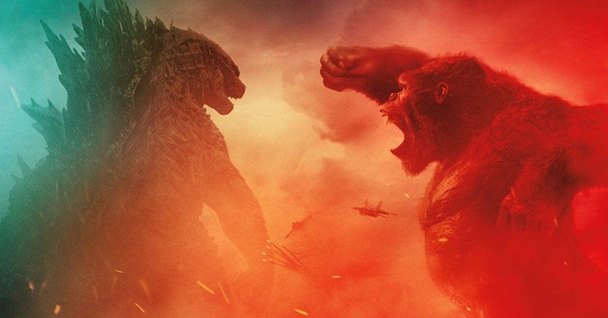 Godzilla vs Kong RealD 3D Release Poster