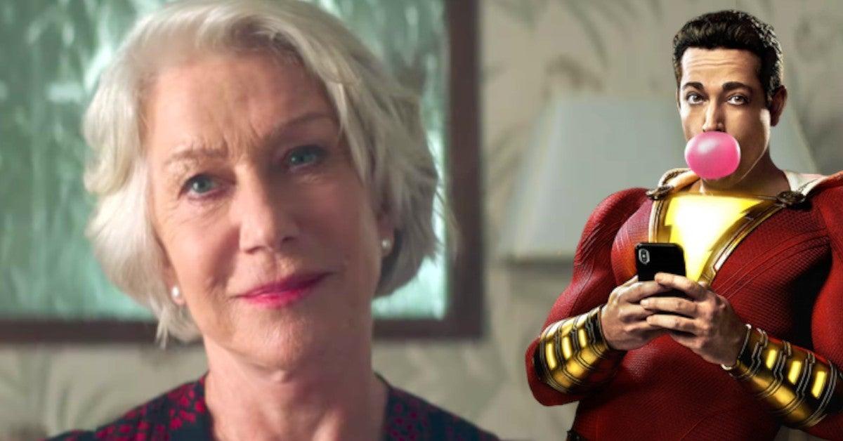 Helen Mirren Shazam 2 Villain Role