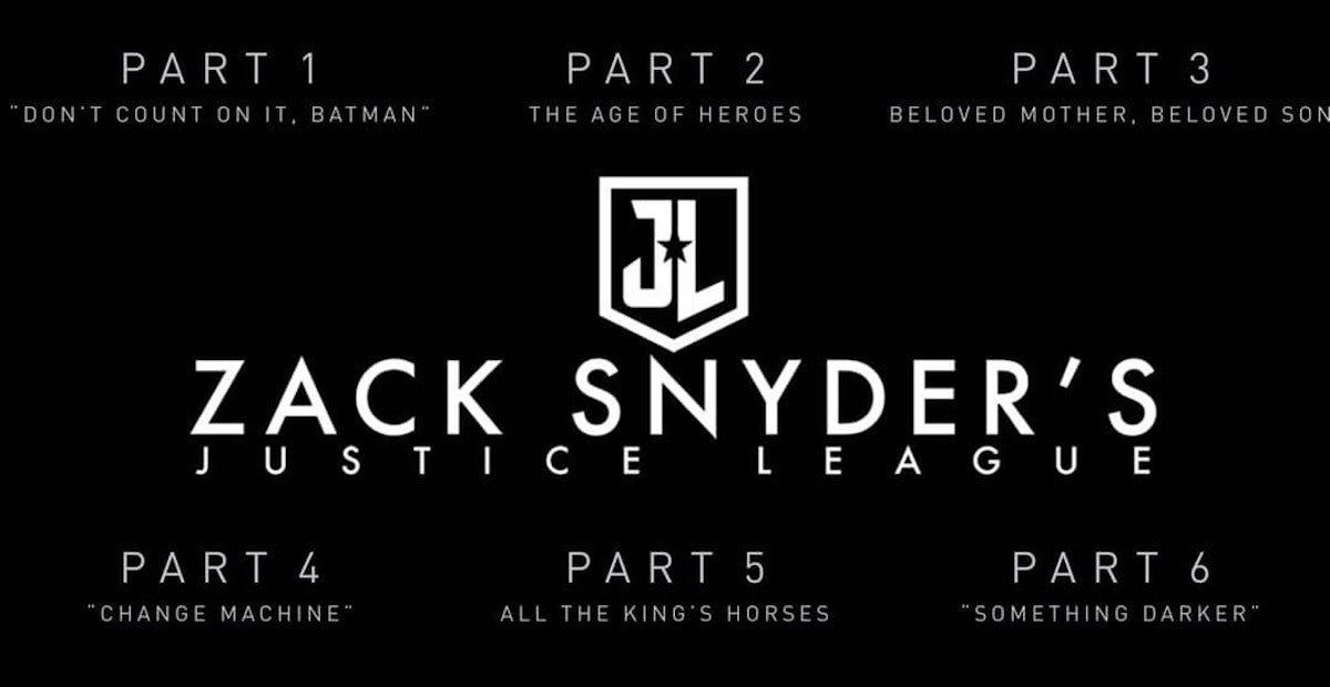 How Long Is Zack Snyders Justice League Parts 1 2 3 4 5 6 Explained Timestamps