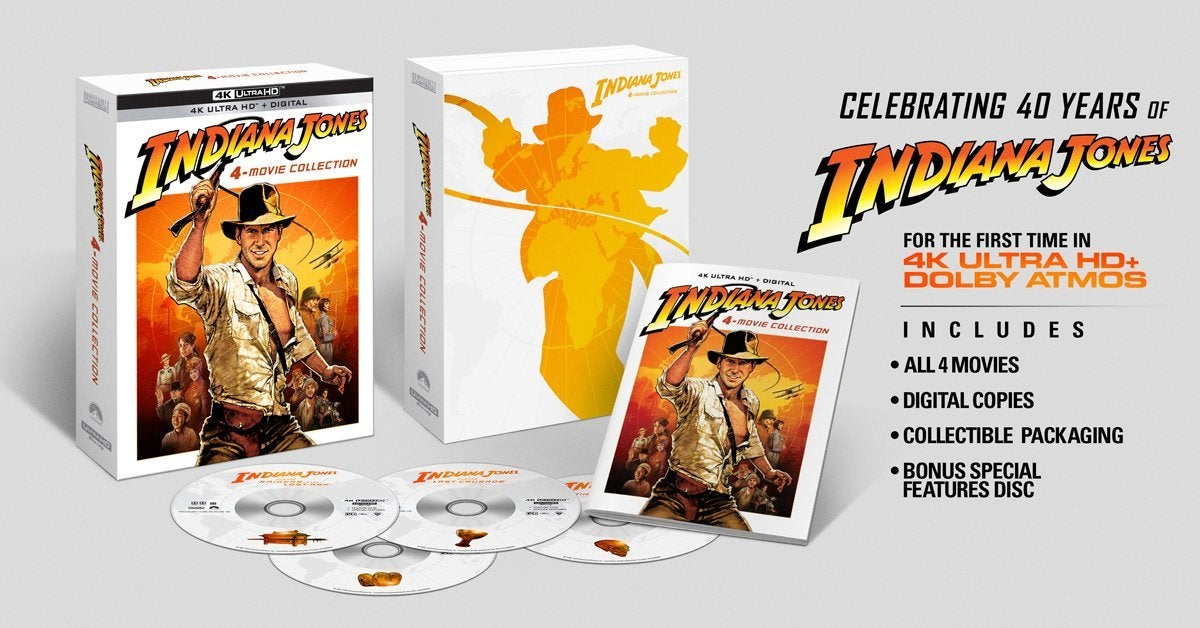 indiana jones four movie collection 4k ultra hd