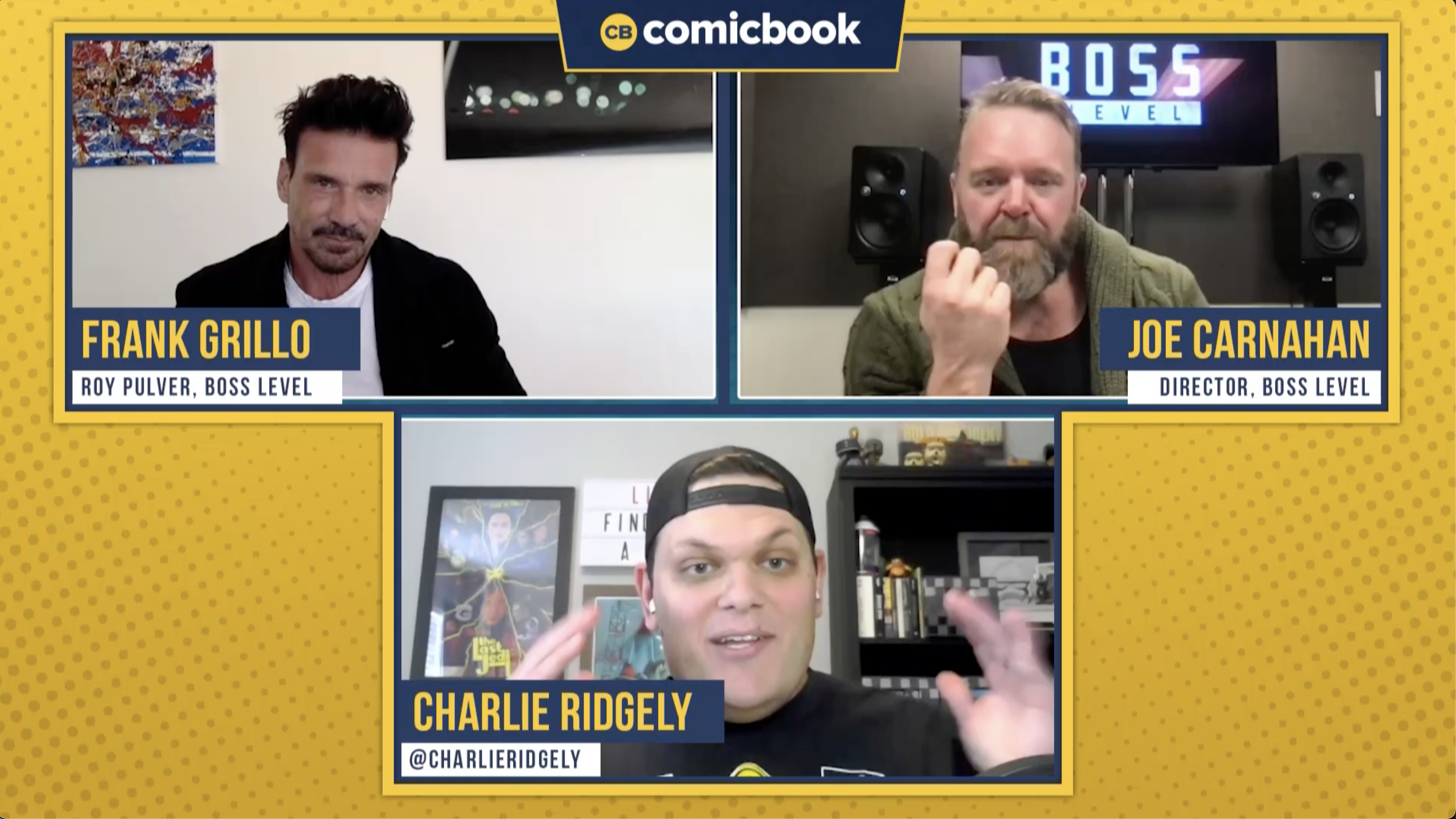 Joe Carnahan and Frank Grillo Talk Boss Level - Exclusive Comicbook.com Interview