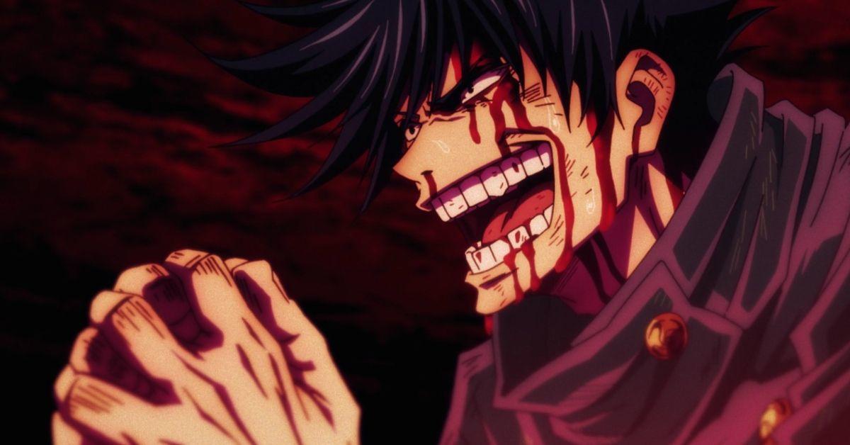 Jujutsu Kaisen Megumi Domain Expansion Chimera Shadow Garden Anime