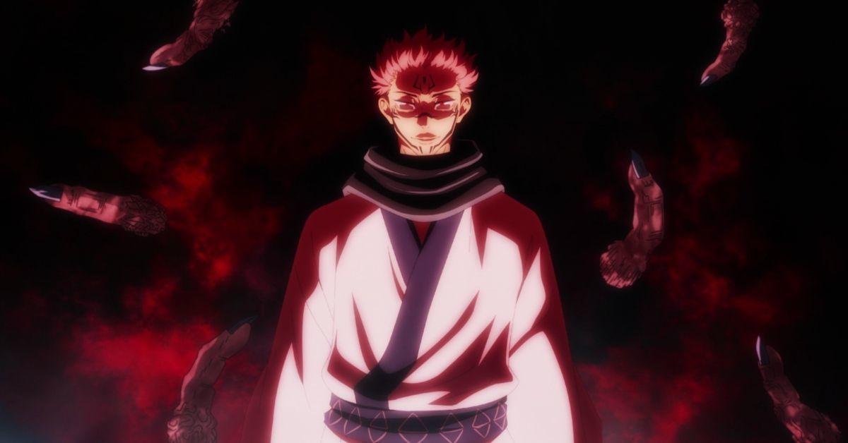 Jujutsu Kaisen Sukuna Fingers Anime
