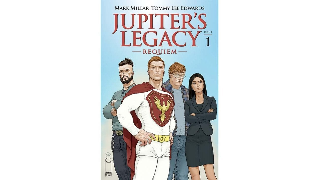 Jupiter's Legacy Requiem Cover