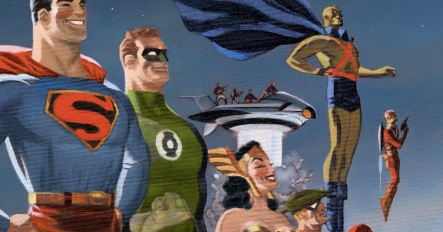 justice league comics dc the new frontier