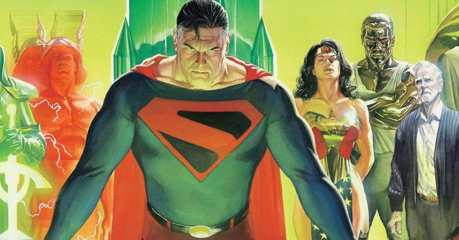 justice league comics kingdom come
