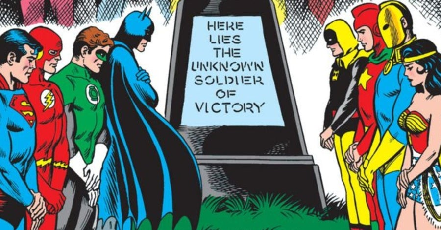 justice league comics unknown soldier of victory