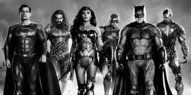 Justice League Justice Is Gray Snyder Cut