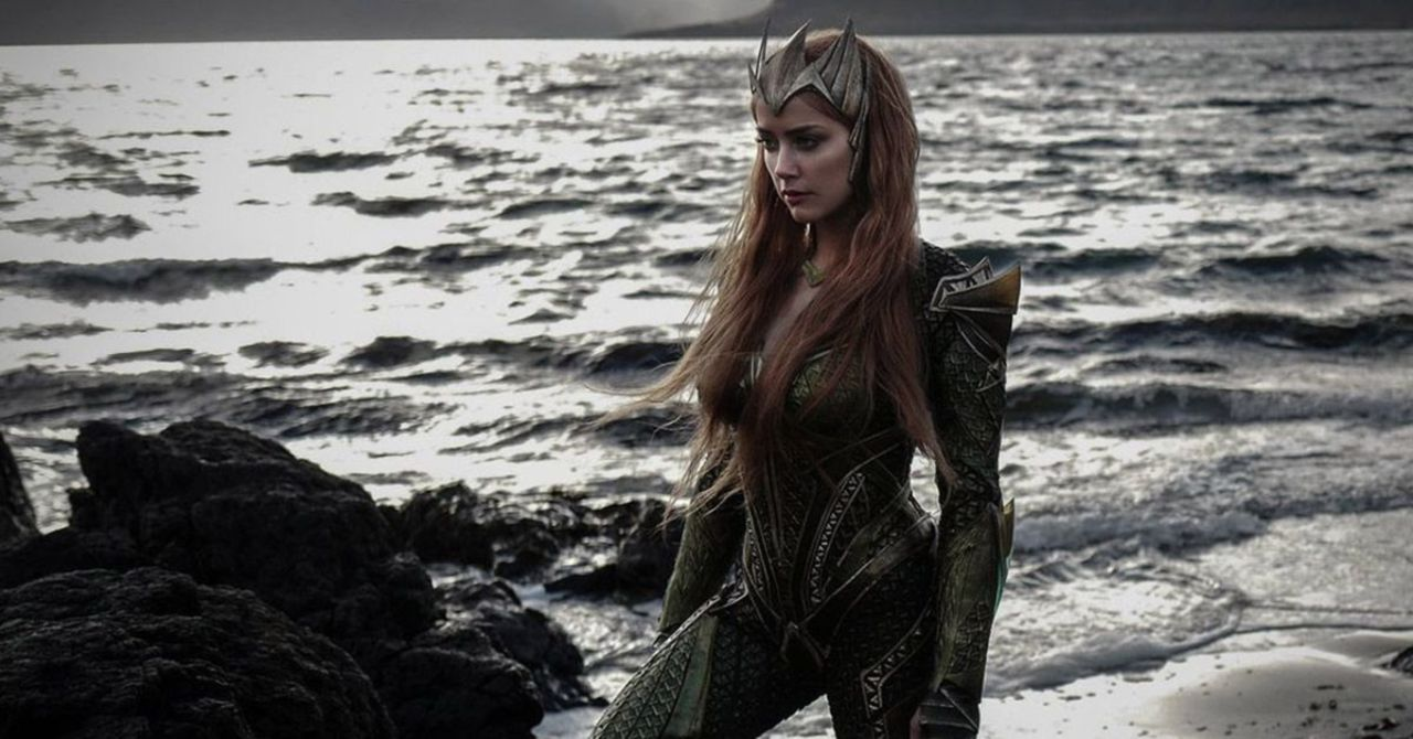 Justice League: Amber Heard Reacts to Mera in the Snyder Cut
