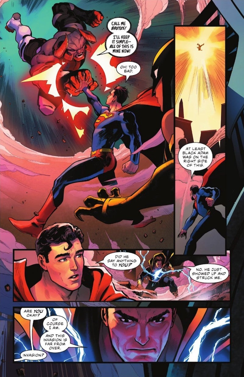Justice League New Villain Brutus DC Comic 59 Spoilers