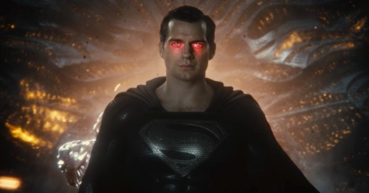 Justice League Snyder Cut Black Suit Superman
