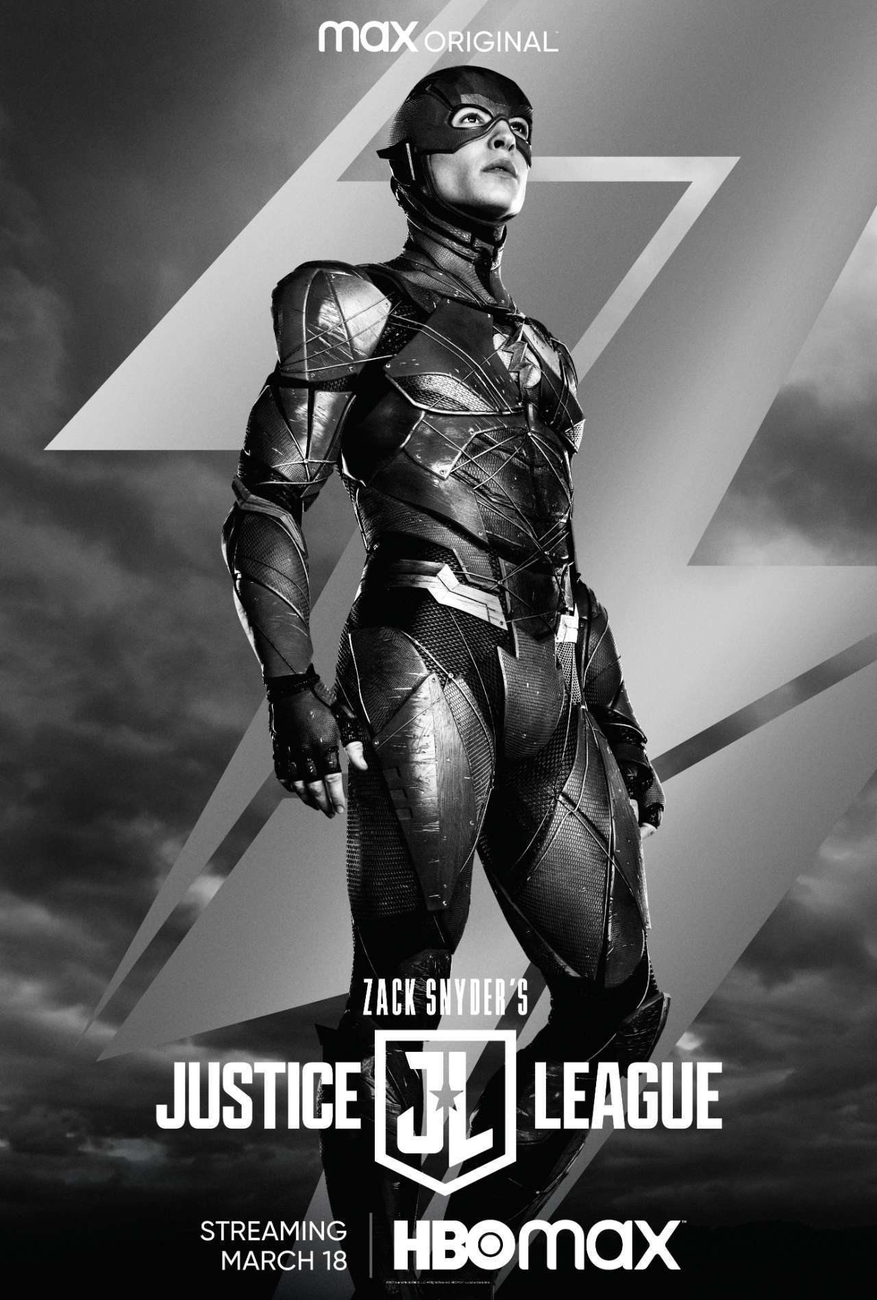 justice league snyder cut flash poster