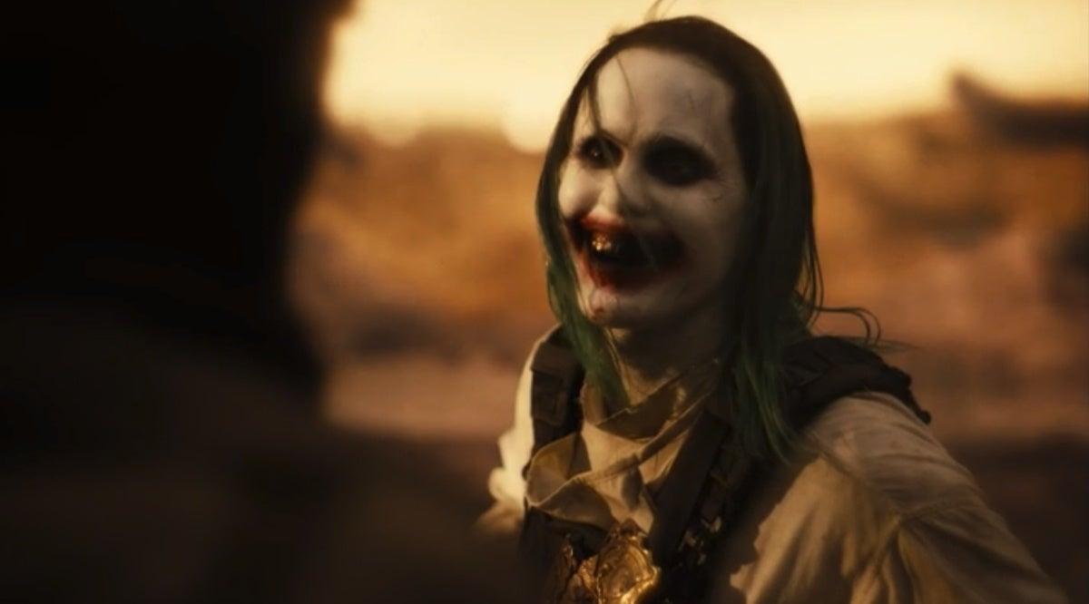Justice League Snyder Cut Joker vs Batman