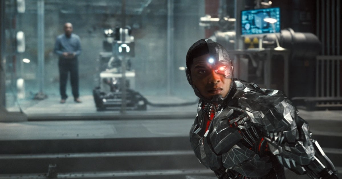 Justice League Snyder Cut Ray Fisher Cyborg