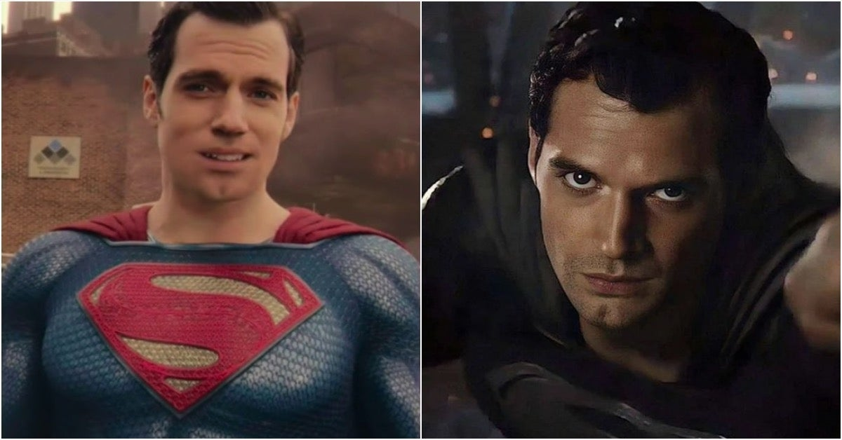Justice League Snyder Cut Superman Henry Cavill mustache