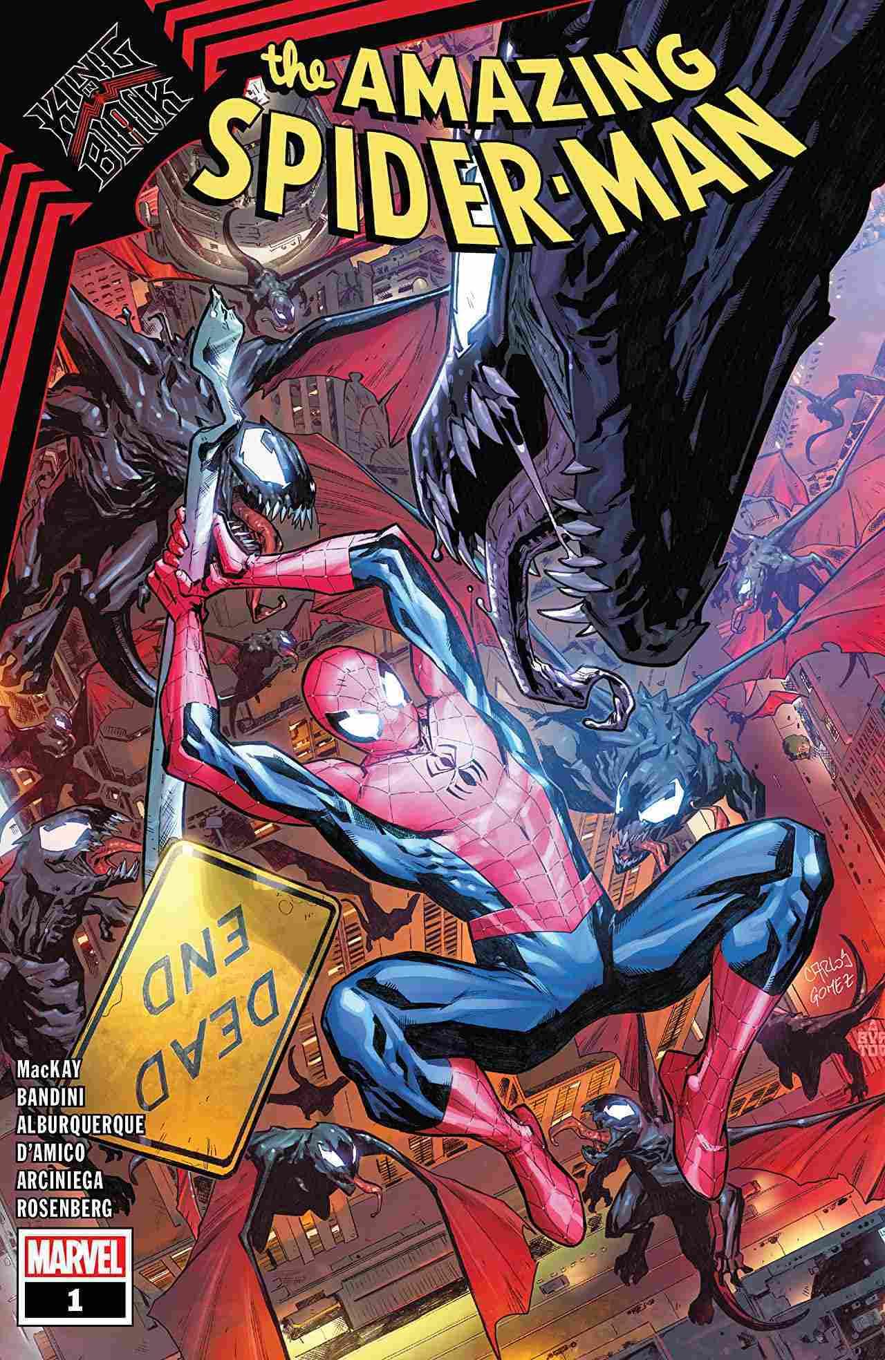 King IN Black Spider-Man #1