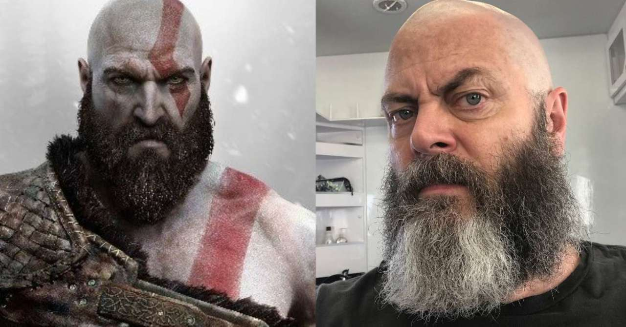 God of War Fans Can't Stop Comparing Nick Offerman to Kratos