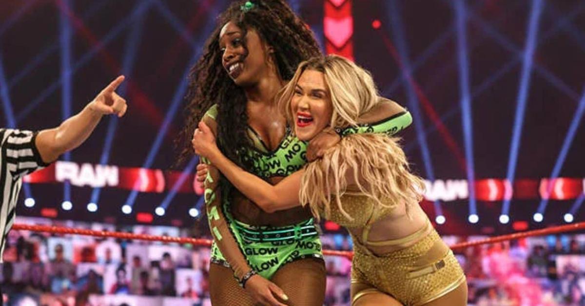 Lana Naomi WWE