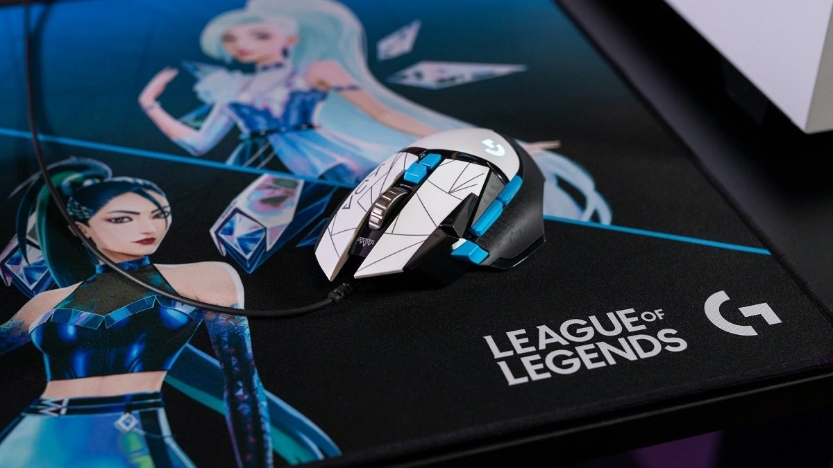 League of Legends KDA Logitech G Mouse