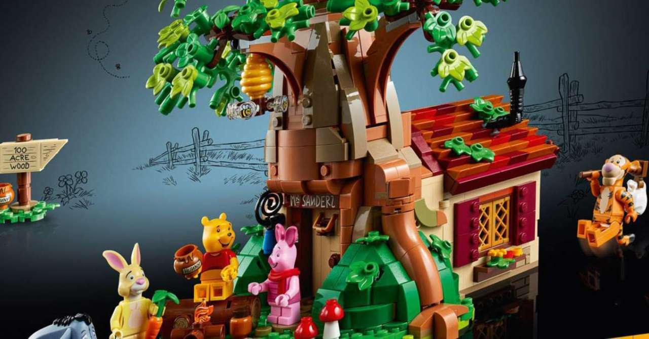 LEGO Ideas 1265-Piece Winnie The Pooh Set For Adult Toy Collectors Launches Soon!