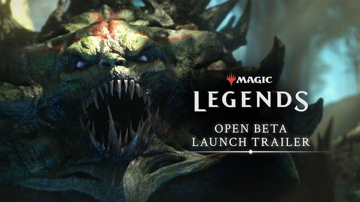Magic Legends Open Beta Launch Trailer