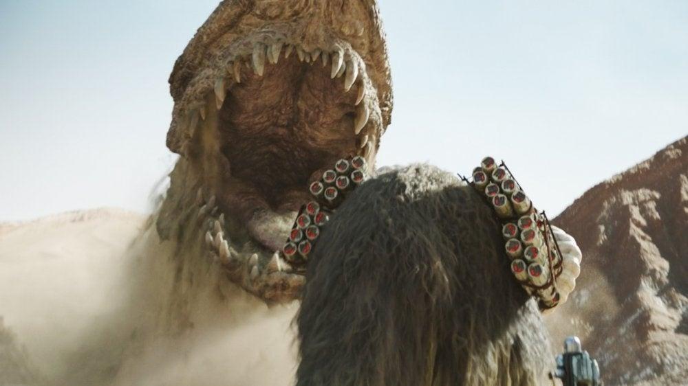 mandalorian star wars krayt dragon