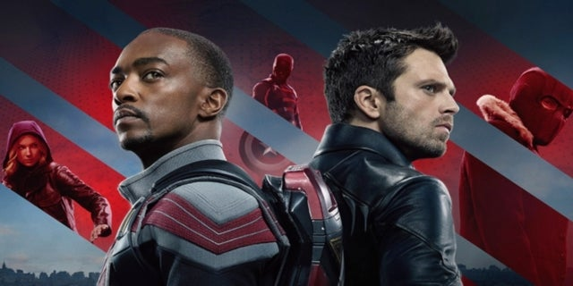 Marvel The Falcon and the Winter Soldier Sam Bucky