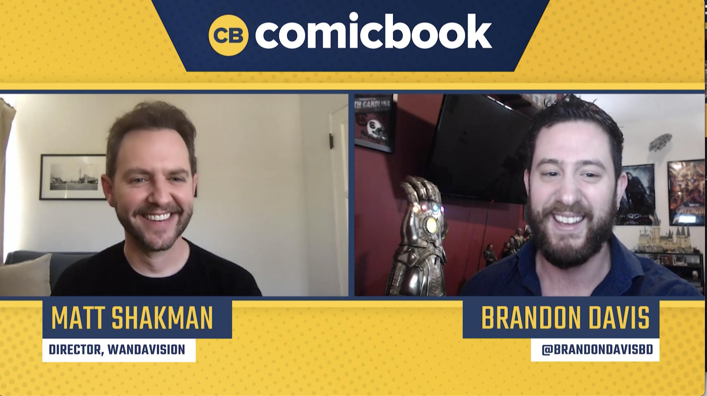 Matt Shakman Talks the WandaVision Finale - Exclusive Comicbook.com Interview