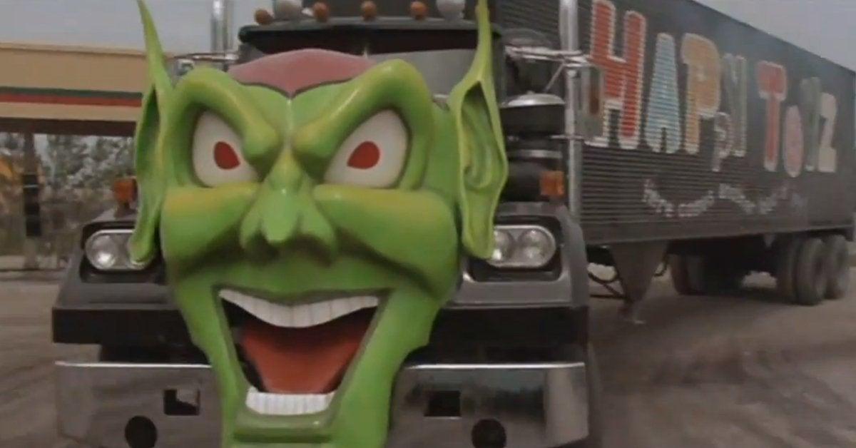 maximum overdrive movie 1986 stephen king green goblin