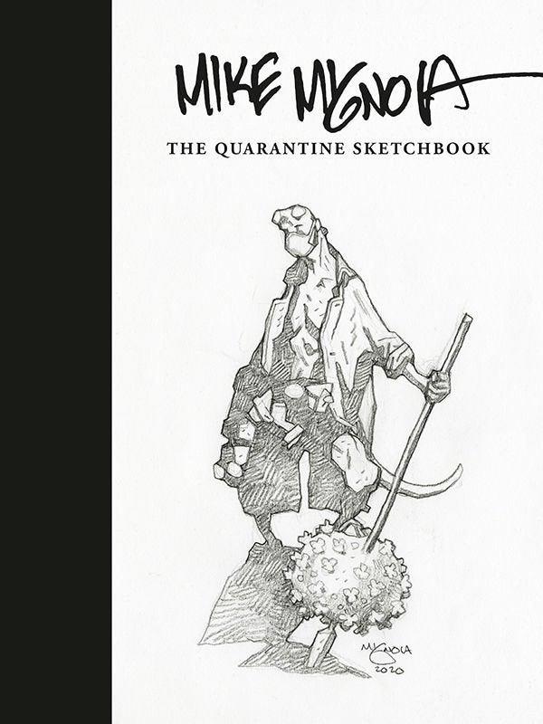 Mike MIgnola Quantine Sketchbook