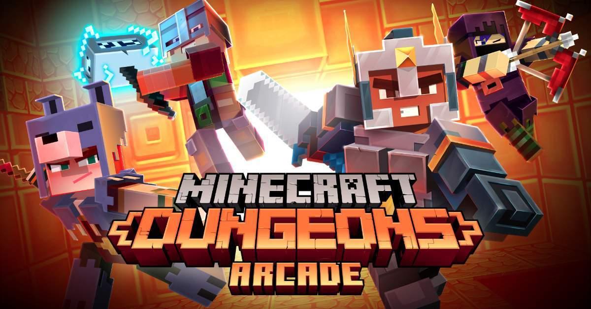 Minecraft Dungeons Arcade copy