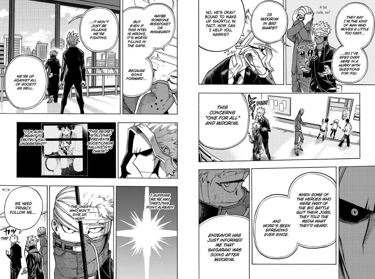 My Hero Academia 306 Spoilers Deku All Might OFA Connection Revealed Explained