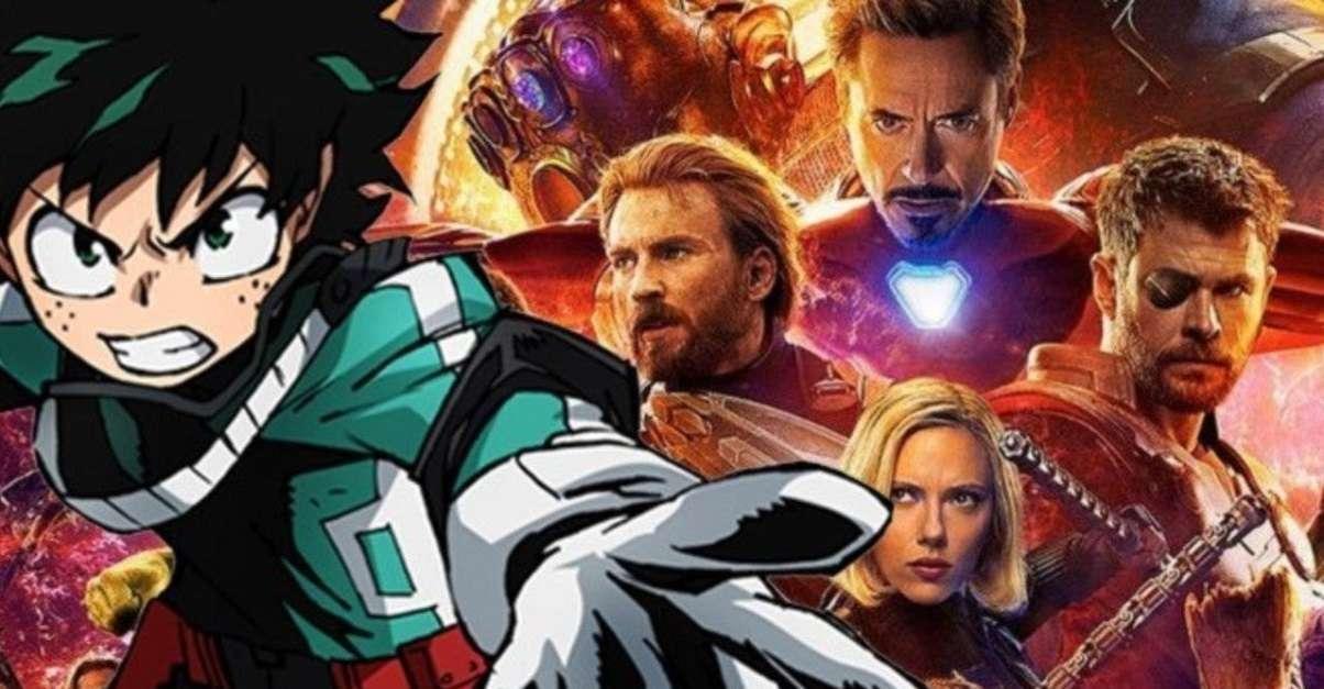 My Hero Academia Avengers Crossover