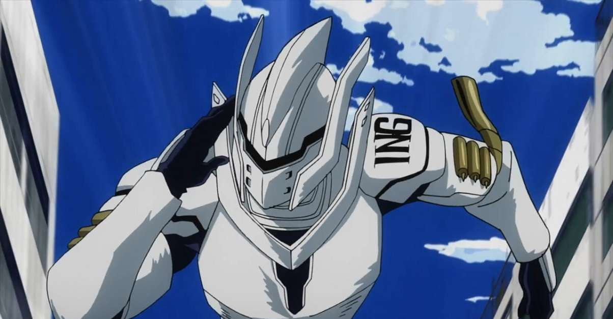 My Hero Academia Iida