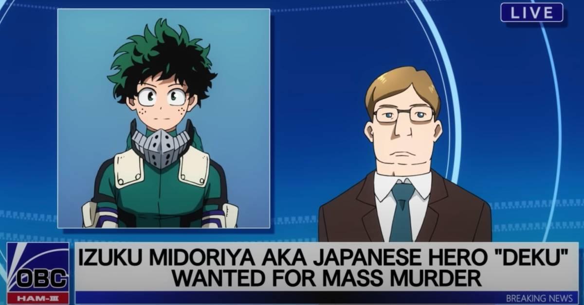 My Hero Academia Movie Deku Wanted