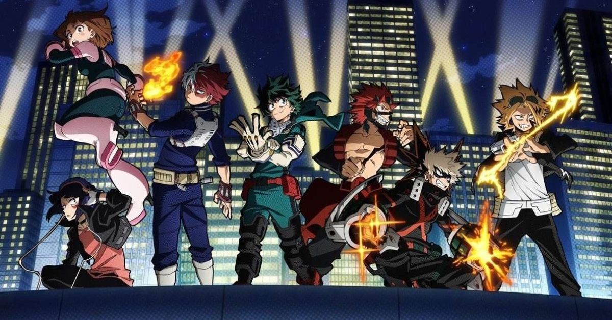 My Hero Academia Season 5 Premiere