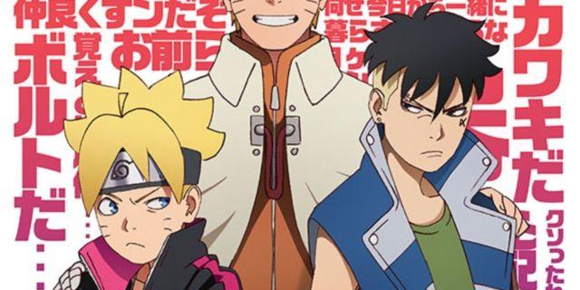 Naruto Boruto Kawaki Arc Clash with Kara Poster